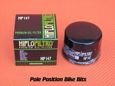 HIFLO OIL FILTER HF147 HF 147 FITS YAMAHA, KYMCO  MOTORCYCLES, SCOOTERS & ATV'S