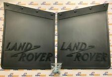 """Land Rover Series 88"""" 109""""  2 2A 3 Rear Mudflaps x2 GENUINE Land Rover 320590"""