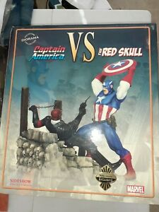 Sideshow Captain America Vs Red Skull Statue Diorama 23/450 Mint FREE SHIPPING