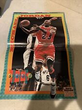 Michael Jordan SI For Kids 1996 poster with mag - no cards JAMMIN MIKE