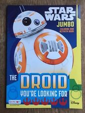 Star Wars Jumbo Coloring and ctivity Book The Droid You're Looking For New