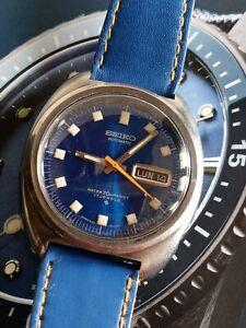 Men's 1970's Rare 1970's Seiko 6106-8237 Self Winding Automatic Wrist Watch