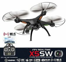 Drone with Camera Live Video X5SW Quadcopter - RC Helicopter FPV Live View Feed