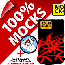 Mocks Bambú Teléfono Móvil MP3 Funda Tipo Calcetín para IPHONE 4S 5 5S 5C Se