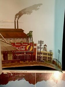"""Walthers """"Instant Horizons"""" 949-711 Freight Yard 24""""x 36"""" with Instructions"""