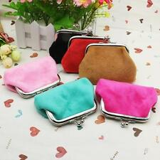 Retro Wallets Fashion Women's Flower Small Wallet Hasp Purse Clutch Bag Mini Bag
