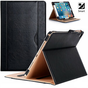 """Case Cover For Apple iPad Pro 9.7"""" (2016) A1673-A1674-A1675 Leather Smart Stand"""