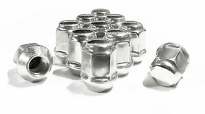 20x New 12x1.5 Jeep Compass Patriot Factory OEM Polished Stainless Lug Nuts Lugs