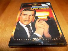 YOU ONLY LIVE TWICE Special 007 Edition Sean Connery Spectre Mission DVD NEW