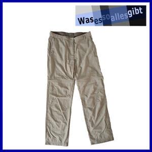 SCHNÄPPCHEN! Craghoppers Nosilife Zip-Off Damen Hose  beige  Gr. 38  #T 40287