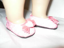 Pink Glitter American Fashion Doll Clothes Shoes  for  18 inch Girl Dolls
