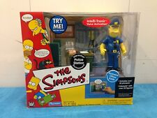 Simpsons Interactive Environment - Police Station with Officer Eddie