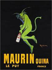 MAURIN QUINA by Leonetto Cappiello. Vintage Advertising Poster
