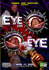 CZW Wrestling: Eye for an Eye DVD, Greg Excellent Devon Moore Nick Gage