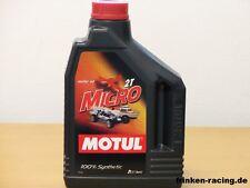 12,50€/l Motul Micro 2T 2 Ltr  Racing Öl für RC - Modellbau