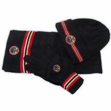 Edmonton Oilers CCM 5054 Senior NHL Hockey Knit Set  Hat,Scarf,Gloves