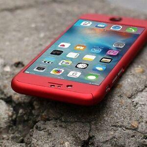 COVER Per Iphone 6 6s 7 8 / PLUS  FRONTE RETRO 360° + PELLICOLA VETRO TEMPERATO