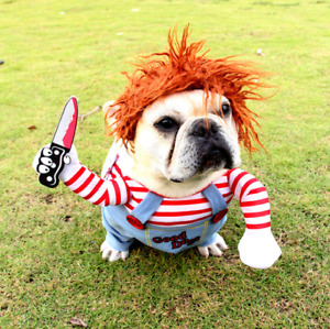Popular cute Pet Costume Dog cosplay Three-dimensional clothes Halloween funny