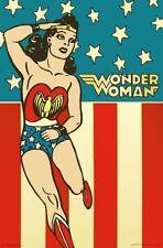 WONDER WOMAN - VINTAGE STYLE POSTER - 22x34 DC COMICS 16480