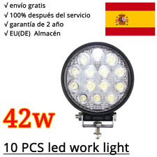 10 X 42w LED Faros de trabajo de la luz de camiòn Làmpara LED Work Light 12V 24V