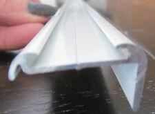 """92"""" White Aluminum Vinyl Insert Type Roof Edge Molding RV Trailer 5/8""""x 1 3/16"""""""