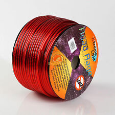 Road Rage 10 Gauge 250 FT Xtreme Hight Performance Wire Cables Red 250' 10 AWG