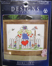 Designs For The Needle Counted Cross Stitch Kit 5121 Garden Gate