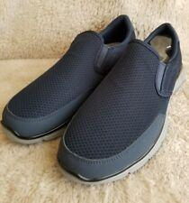 4e5c0b4e5 Skechers Para Hombre verso robusto arrecife Slip On Azul Marino Carbón 10  de ancho de Estados Unidos