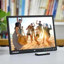 """Andoer 15"""" TFT LED Digital Photo Frame Screen Desktop Album Display Image K5R5"""