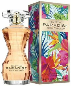 TEMPTING PARADISE by Sofia Vergara perfume for her EDP 3.3 / 3.4 oz New in Box