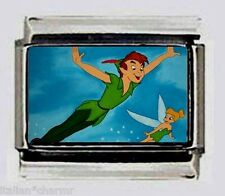 Disney's Peter Pan & Tink 9mm Photo Italian Charm for modular link bracelets