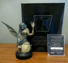 GENTLE GIANT Star Wars WATTO Collectible Mini Bust TPM BRAND Rare #540/1200