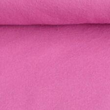 Bekleidungsstoff Flanell einfarbig pink