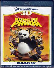 Blu-ray 3D DreamWorks **KUNG FU PANDA 1** nuovo 2011
