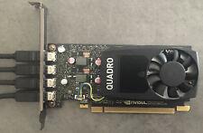 Carte Graphique NVIDIA Quadro P620 PCI-E x16 2 Go DDR5 + 4 Mini DP -> DP