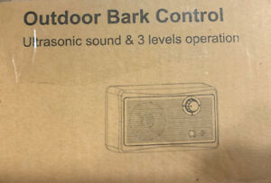Outdoor Bark Control Ultrasonic Sound 3 Levels