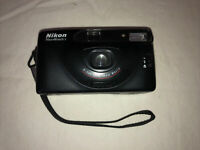 Nikon Nice Touch 2 Point & Shoot Camera w 35mm Macro Lens  untested but clean