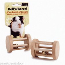 Bell 'n' Barrel Guinea Pig Rabbit Toy Play Exercise Activity