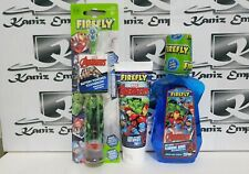 *New* Firefly Marvel Avengers Toothbrush, Toothpaste & Mouthwash Set of 3 Items
