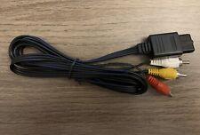 N64 SNES Gamecube 6FT RCA AV TV Audio Video Stereo Cable Cord For Nintendo
