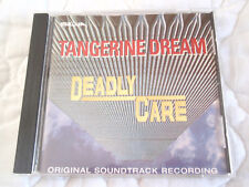 TANGERINE DREAM DEADLY CARE TV MOVIE ORIGINAL SOUNDTRACK CD EDGAR FROESE OOP