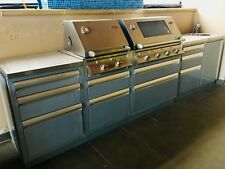 BBQ Beefeater Signature 3000S complete kitchen with cabinet, drawers and sink