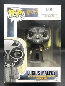 Funko Pop Vinyl LUCIUS MALFOY [DEATH EATER MASK] #30 HARRY POTTER in Protector