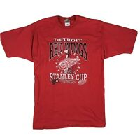 VTG 1996 Stanley Cup Finals T-Shirt Detroit Red Wings vs Philadelphia Flyers XL
