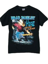 Brad Paisley H20Ii Wetter & Wilder Concert Tour T-Shirt Small Country 2011 1899
