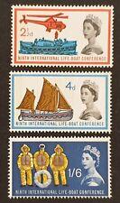 More details for duzik: gb 1963  lifeboat conference sg639p/41p (phos.) set of 3 mnh (no270)**