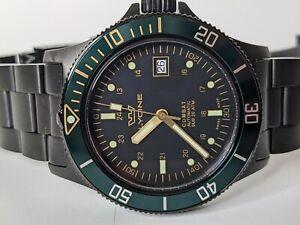 Glycine Combat Sub Automatic Watch Black Green GL0273 Men's Watch 42mm