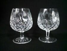 Vintage Lead Crystal Brandy Snifters
