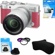 Fujifilm X-A3 Mirrorless Digital Camera W/ 16-50mm Lens Pink +case + Filter Hood