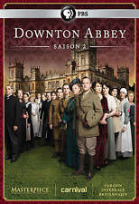 Downton Abbey: Season 2 (DVD, 2013, 3-Disc Set) New